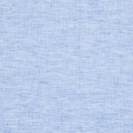 Linen Fabric Sample Francesca Blue