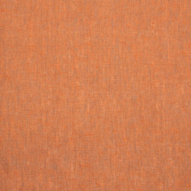 Linen Fabric Upholstery Orange