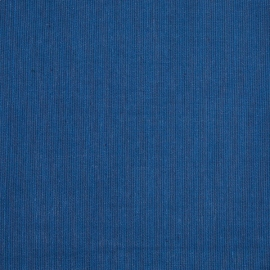 Linen Fabric Sample Pinstripe Blue