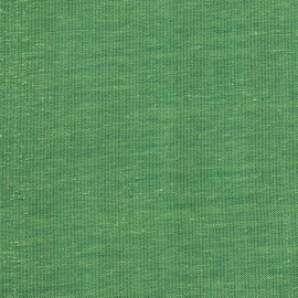 Linen Fabric Pinstripe Green
