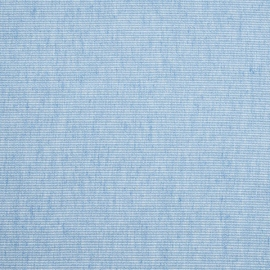 Linen Fabric Sample Pinstripe Sky Blue