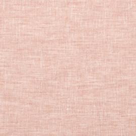 Linen Fabric Crushed Melange Rosa Prewashed