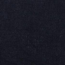 Linen Fabric Terra Navy