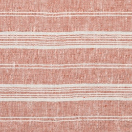 Brick Linen Fabric Multistripe